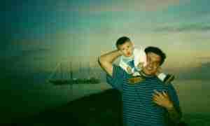 Carlos Cano y su hijo Pablo. Foto de Eva Sánchez