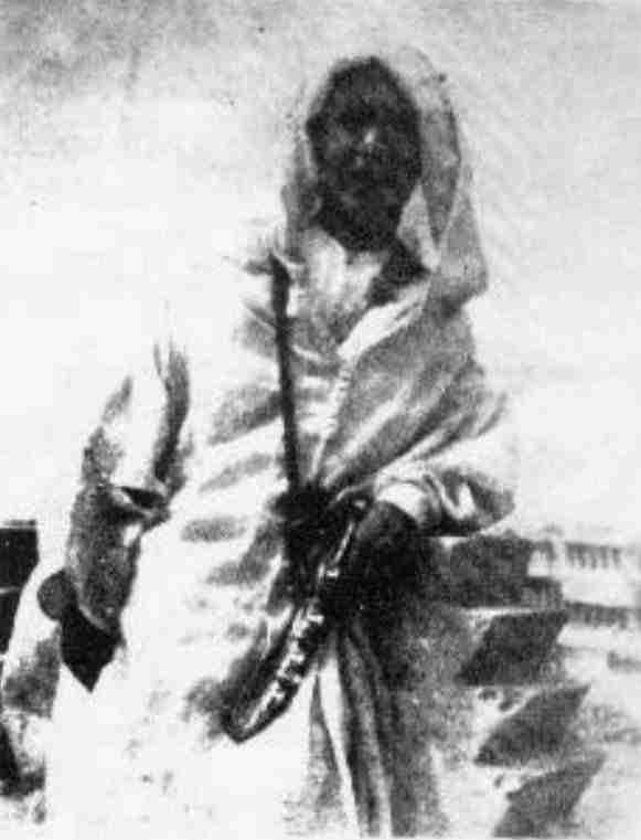 Blas Infante a la antigua usanza marroqui 1924