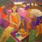 Vida cotidiana y melancolía en Belén Elorrieta