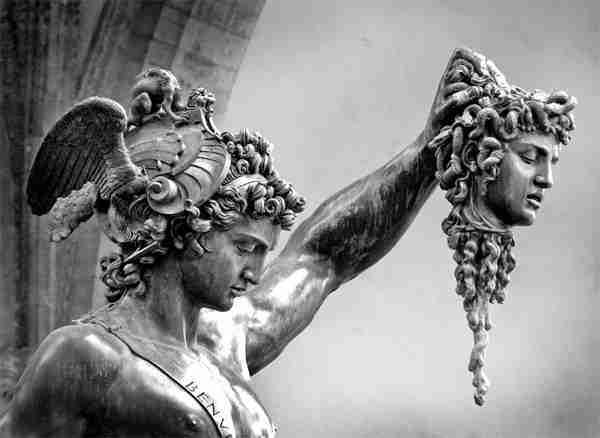 Resultado de imagen de perseo y la gorgona