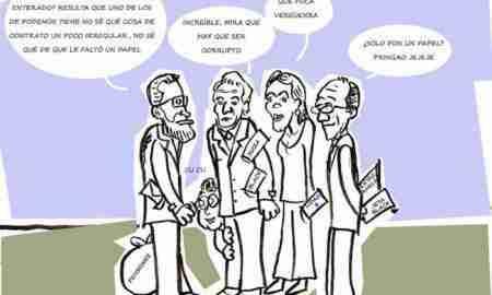 Ahí lo llevas (59): Esos de Podemos. Ilustración de Javier Blanco