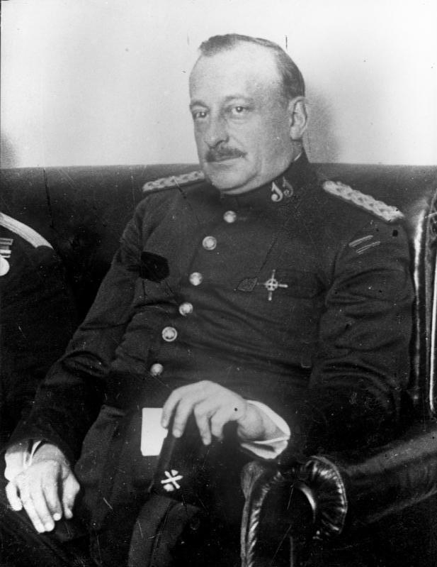 El dictador jerezano Miguel Primo de Rivera. Foto de Roy Focker.