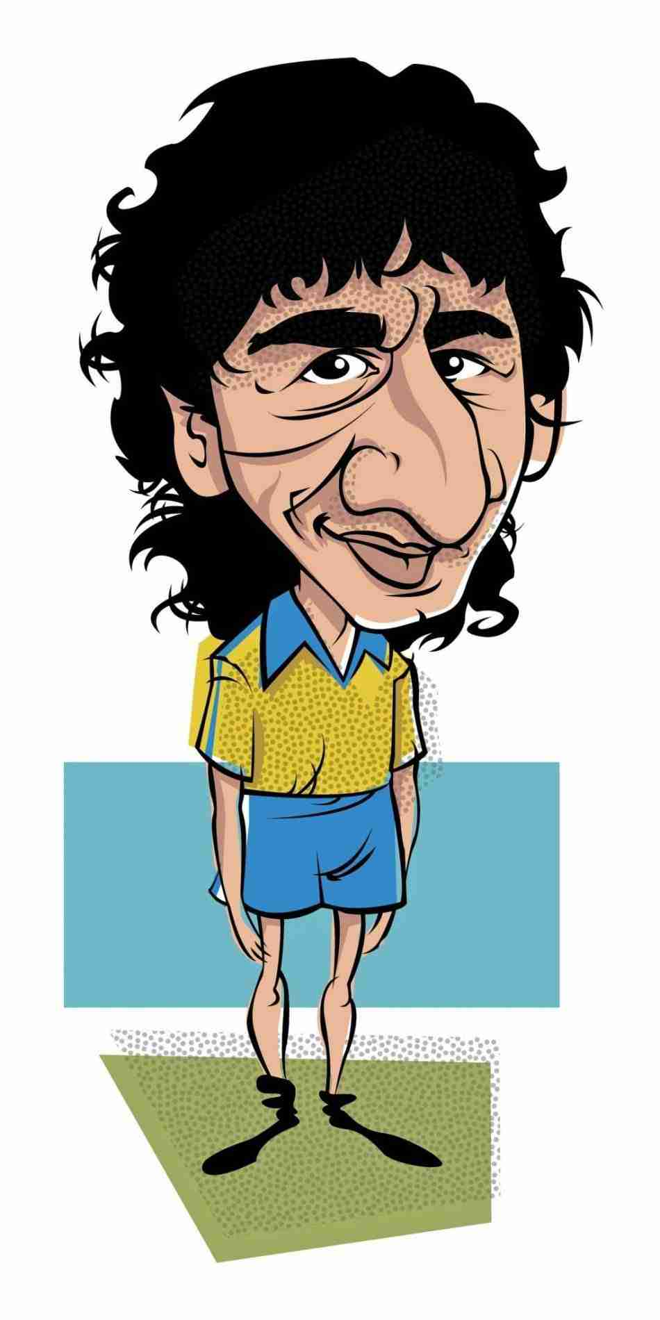 Mágico González por Juan Carlos Esteban
