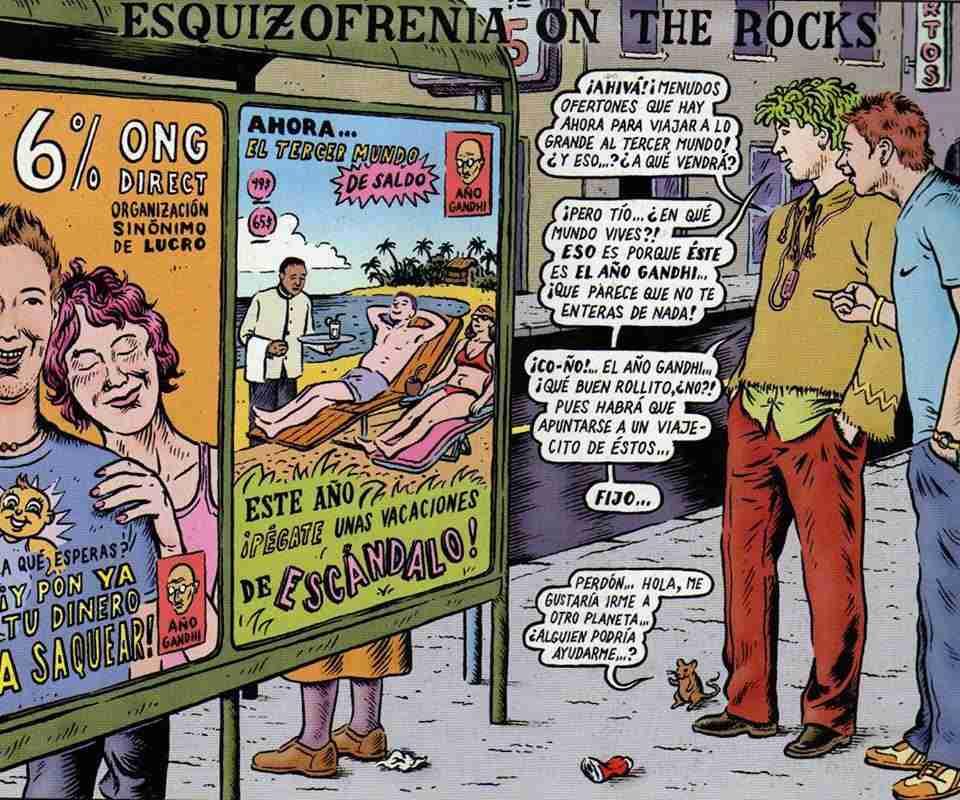 Esquizofrenia on the rocks