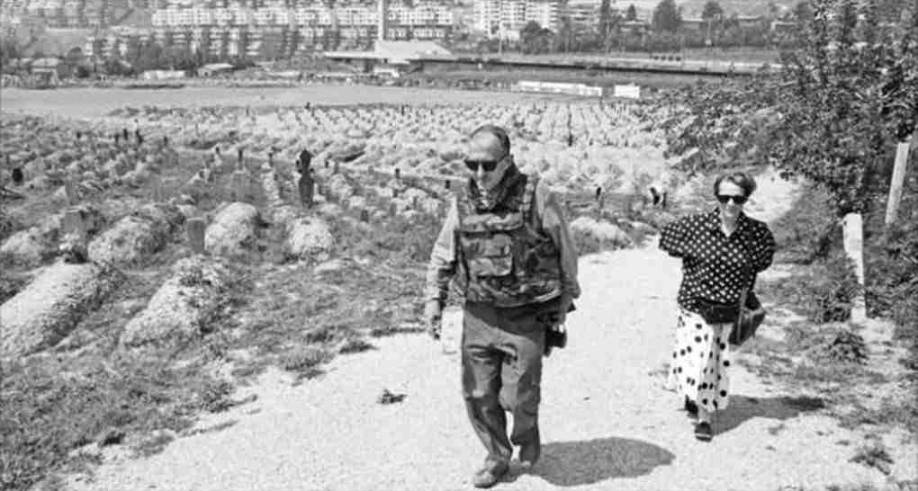 Juan Goytisolo en Sarajevo