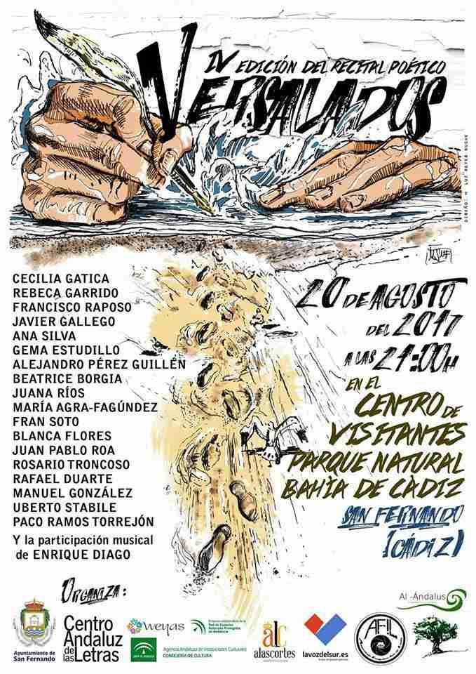 Versalados IV recital poético San Fernando