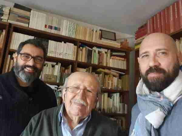 Fernando Jaén, Rafael Guillén y Javier Gilabert. Foto de Javier Gilabert.