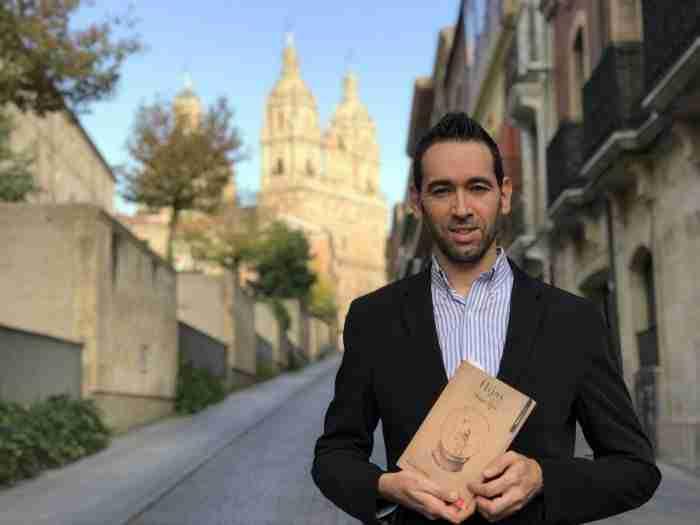 Gerardo Rodríguez Salas, autor de Hijas de un sueño. Foto de Fernando Agustin Medina Molina
