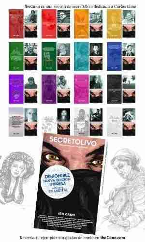 Ibn Cano es una revista de secretOlivo dedicada a Carlos Cano
