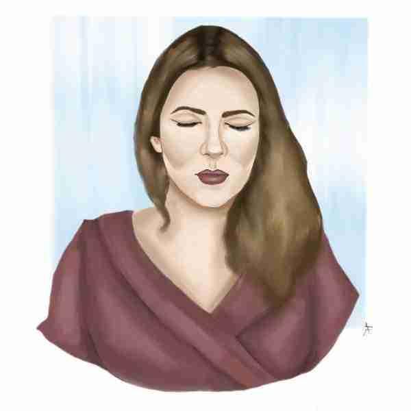Ilustración de Rocío Márquez por Álvaro Sola