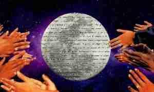 Mística flamenca, collage por Sofía Crottogini