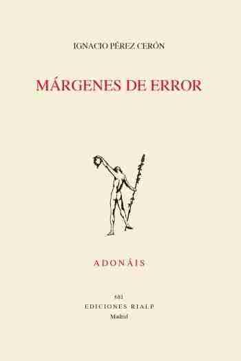Portada de 'Márgenes de error', de Nacho Pérez Cerón
