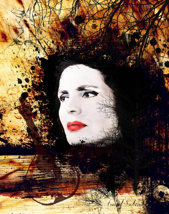 Amália Rodrigues por Isabel Salvador